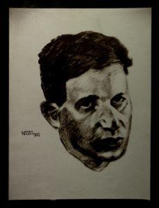 Ritratto di Israel Kalk. Ferramonti di Tarsia, 1943