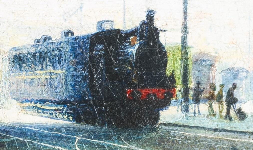 Morbelli, Stazione Centrale, particolare