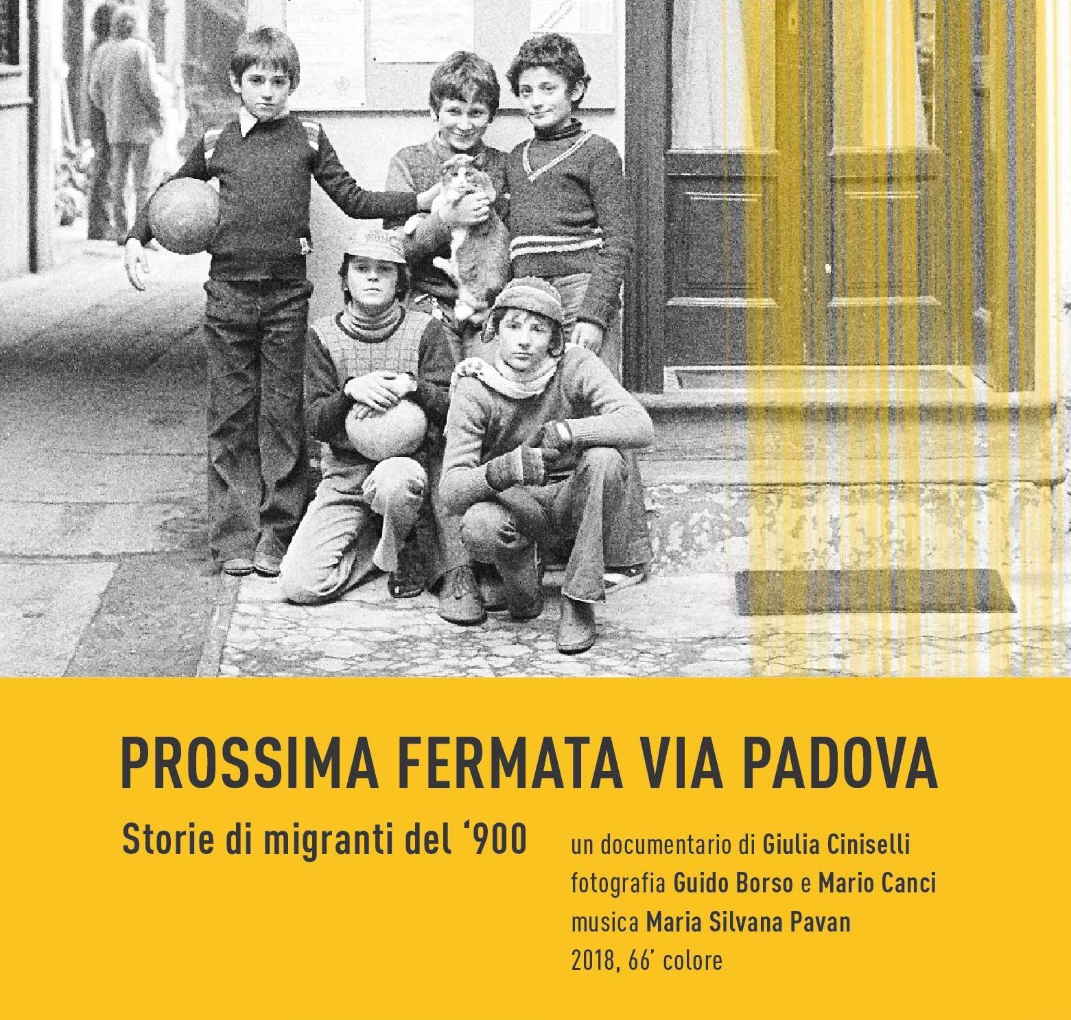 Prossima fermata via Padova