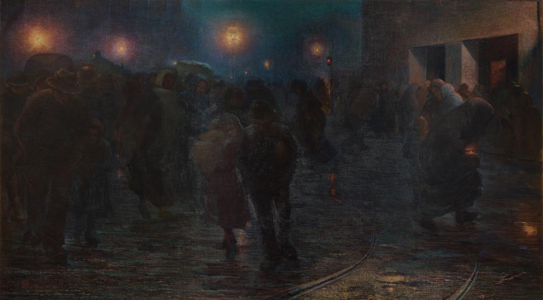 L'alba dell'operaio