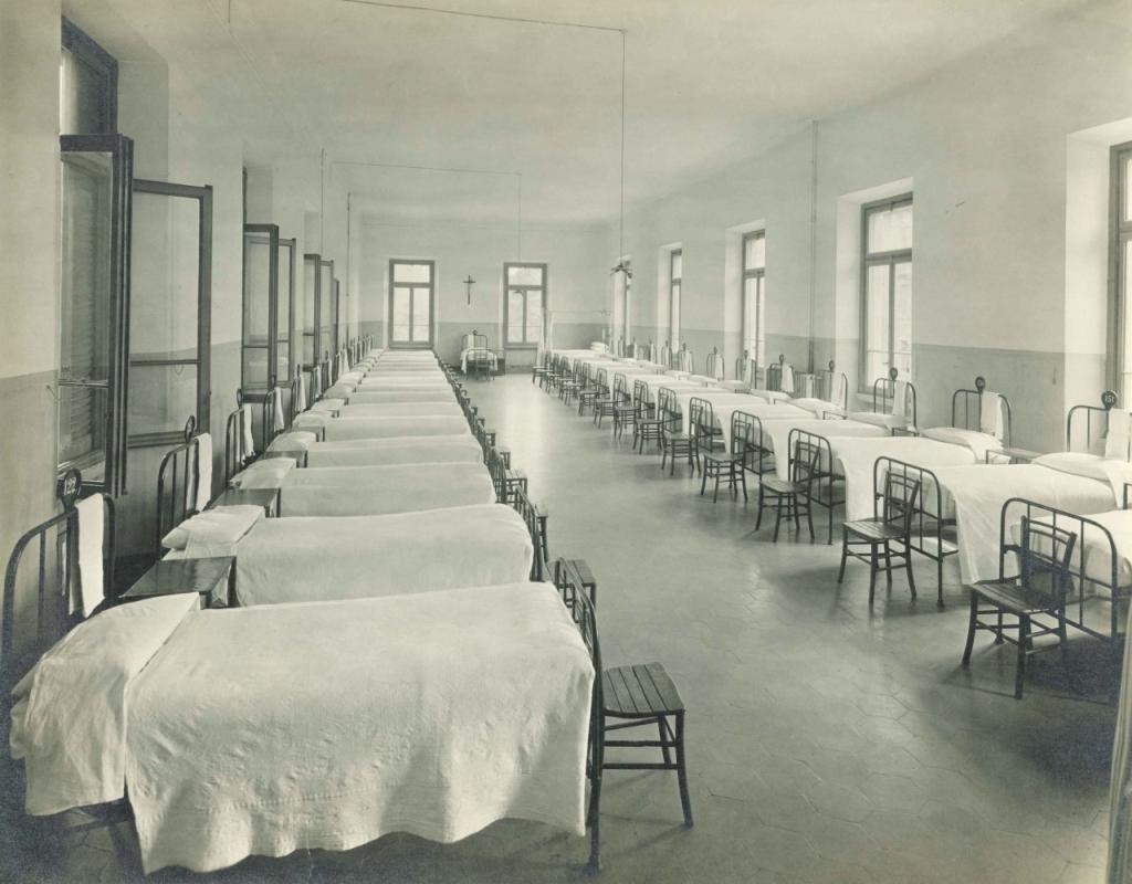 Istituto Derelitti, dormitorio