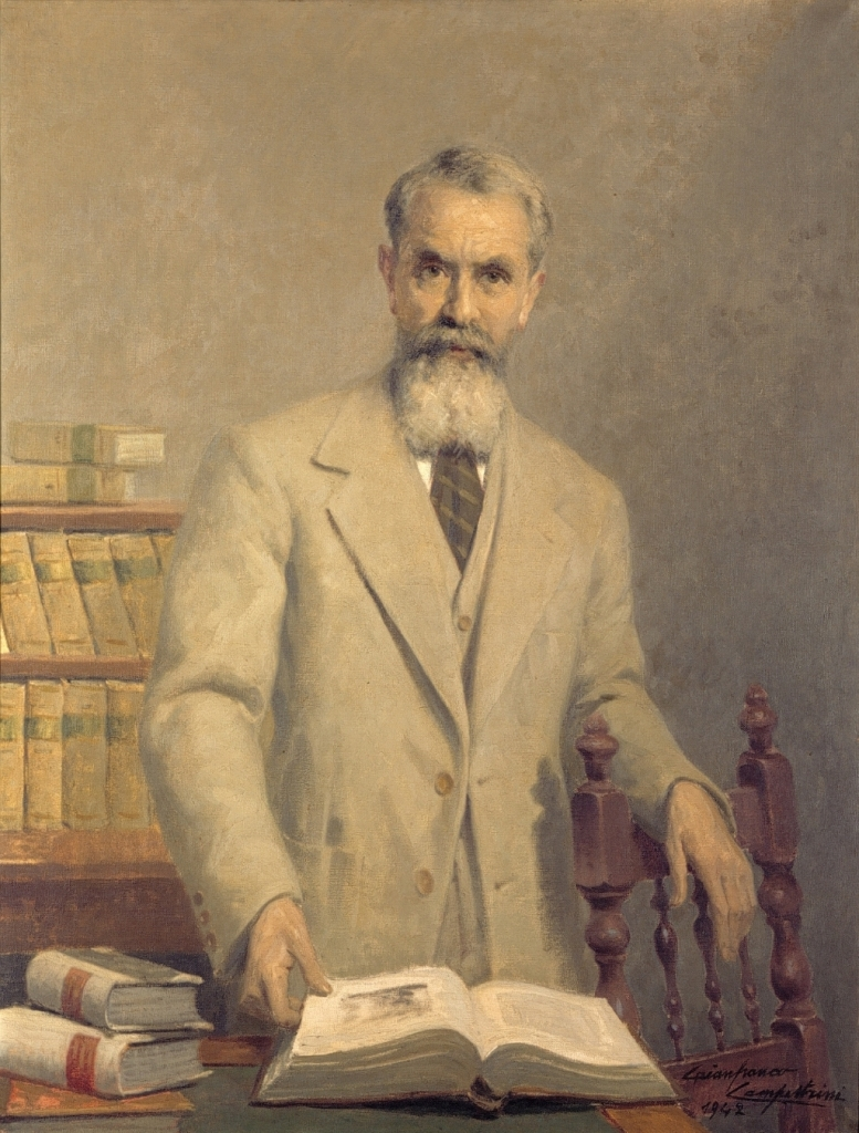 Gianfranco Campestrini, Ritratto di Alessandro Schiavi