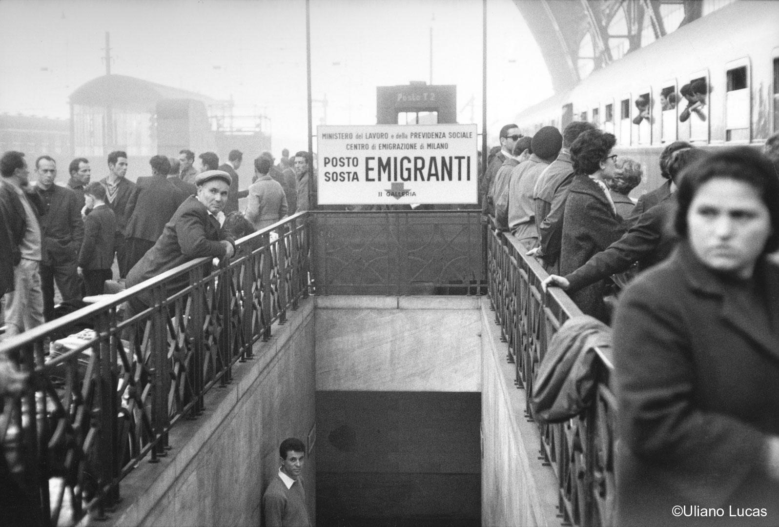 Stazione Centrale di Milano, 1963