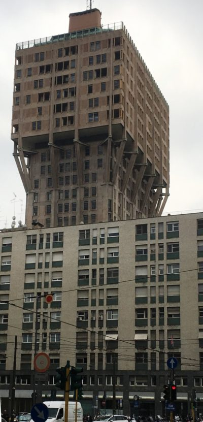 Torre Velasca dello studio Bbpr, 1951-1958