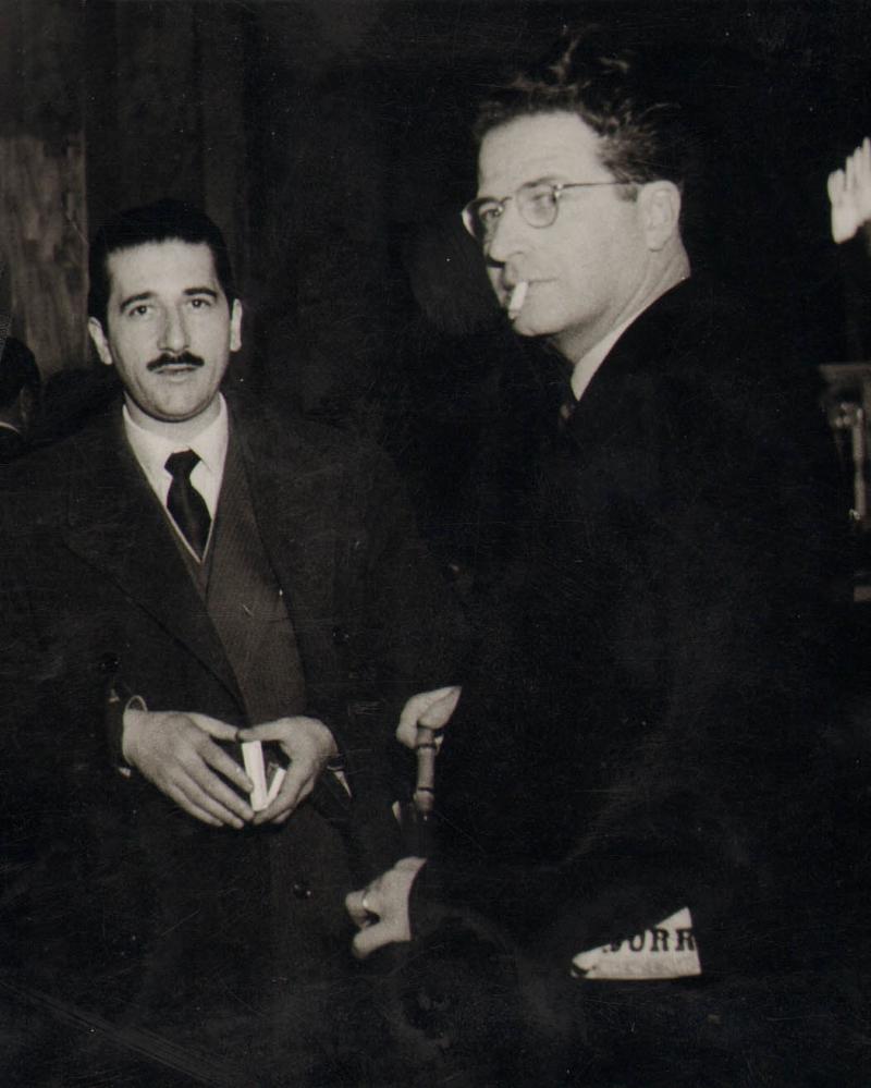 Angelo Pagani e Aldo Aniasi