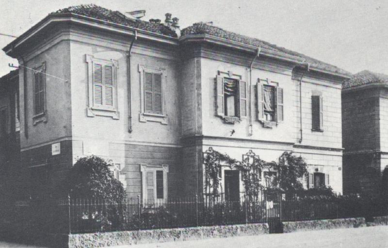 Casetta monofamiliare fuori di Porta Vittoria (Cento anni di lavoro della SEAO, p. 14)