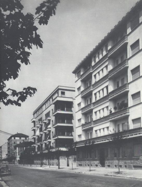 Case di via Piranesi 27 e 31 (Cento anni di lavoro della Società Cooperativa Edificatrice Abitazioni Operaie di Milano, 1979, p. 36)