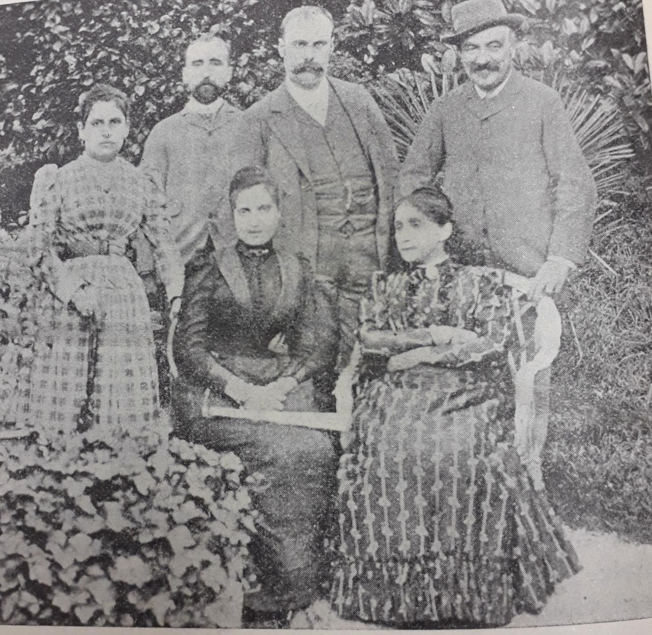 La famiglia Ferrini