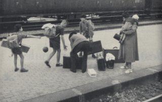 Famiglia di immigrati, 1963