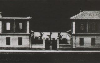 Luigi Mazzocchi. Plastico degli Asili Notturni Lorenzo e Teresa Sonzogno