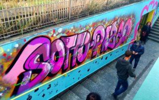 immagini graffiti sottopazzo