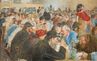 Attilio Pusterla, Alle cucine economiche di Porta Nuova, 1887