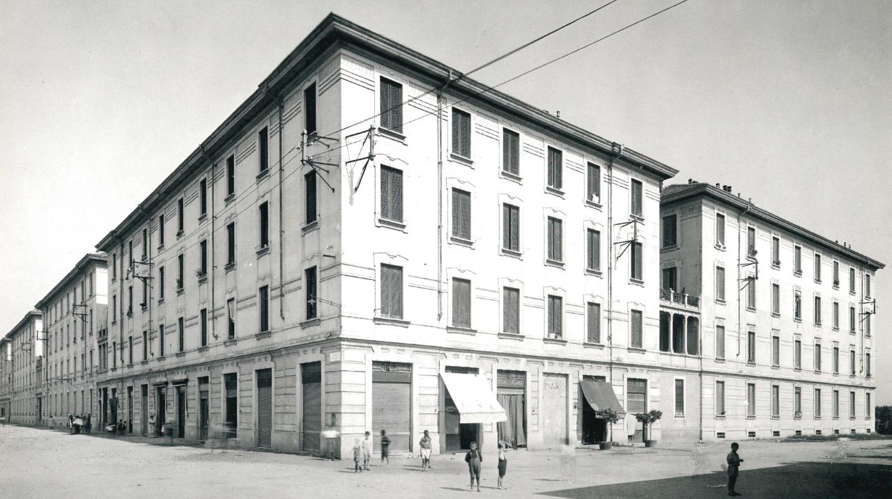 Viale Suzzani, Quartiere IACP Niguarda, 1913 (Archivio ALER)